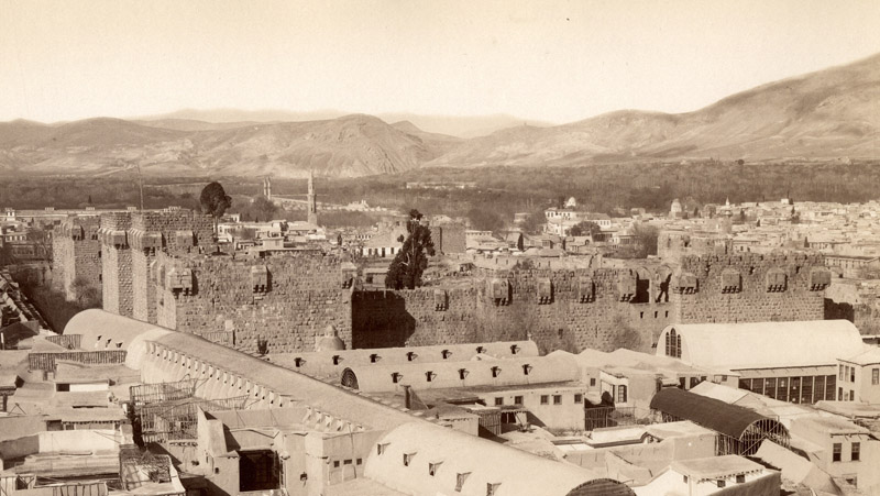 The Ancient Cities of the Middle East :: Damascus